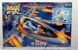 Mattel Vtg 1999 Max Steel MX 25 Attack Jet Vehicle Mib European New Mib Boxed