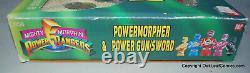 Mighty Morphin Power Rangers Power Gun Sword Morpher 1993 Bandai Vintage SEALED