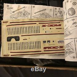 Monogram #2610 IROC-Z CAMARO 1/8 Scale Plastic Model Kit Open Box New