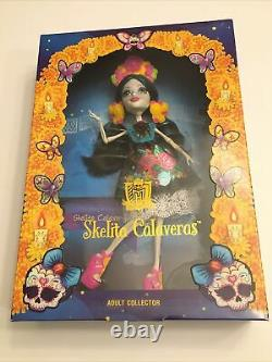 Monster High Adult Collector Day Of The Dead Skelita Calaveras Doll New In Box