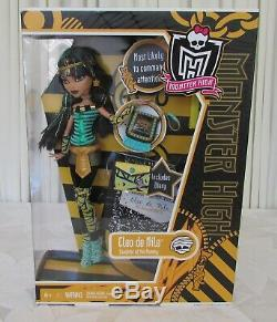 Monster High Cleo de Nile Doll First Wave New in Box Actual Doll