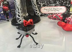 Monster High Doll Webarella SDCC 2013 Exclusive withPet Wydowna- Complete In Box