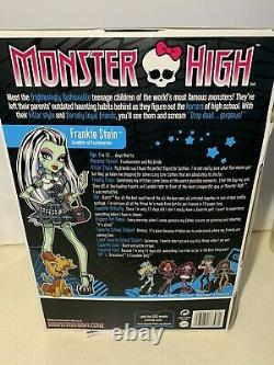 Monster High Frankie Stein New In Box-first Wave 2009-rare