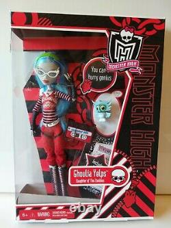 Monster High Ghoulia Yelps Daughter of the Zombies Original Ghouls Doll In Box