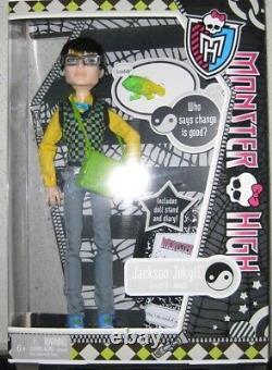 Monster High Jackson Jekyll Brand New In Box, Dated 2011