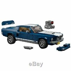 NEW BRAND Custom Expert Ford Mustang GT Compitible Lego 10265 + Instruction Book