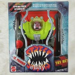 NEW IN BOX SEALED Vintage Street Sharks Dr. Piranoid First Series RARE NISB