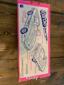 NIB 1983 Barbie Silver'Vette with Original Box Never Removed From Box