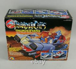 NIB MIB VTG 1980's LJN ThunderCats ThunderTank Mint Boxed withManual, Orig. Treads