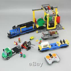 New Custom City Cargo Train Lego 60052 Compatible Set Free Shipping