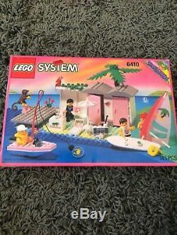New Factory Sealed LEGO 6410 Paradisa Cabanna Beach Lego set from 1994