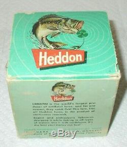 Nos-vintage Heddon Coho Tadpolly Dealer Box Of 6 All New In Cb Boxes-rare Item