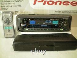 OLD SCHOOL/VINTAGE PIONEER DEH-P7000R CD PLAYER RADIO/STEREO WithREMOTE, BOX, ETC