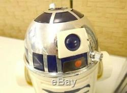 RARE Takara Robot Walk R2-D2 vintage 1978 Japanese Star Wars toy with BOX xx14