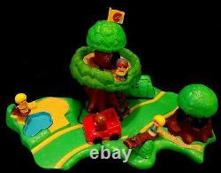 RARE Vtg Kenner Tree Tots Family Tree House Playground Park COMPLETE EUC in BOX