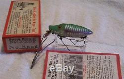 Rare Heddon No Snag River Runt Spook Sinker Lure 10/03/18pots Box N9119xgf