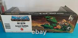 Rare Motu vintage gift two pack Battle Armor Hr man and Road Ripper box complete