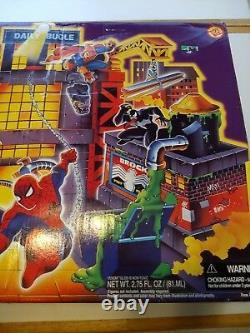 Rare Vintage 1995 Spiderman Daily Bugle Playset Toy Biz Marvel New Mib