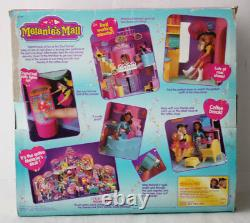 Rare Vintage 1997 Melanie's Mall Cool Corner Playset Cap Toys Oddzon New Mib