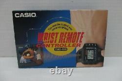 Rare Vintage Casio CMD-10B Remote Control Module TV/VCR Wrist Watch-New in Box