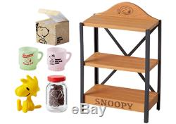 Re-Ment Snoopy Vintage Cafe Peanuts Miniature Figure Complete Box JAPAN