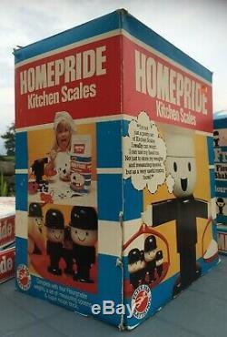 Retro/Vintage Homepride Fred Flour Grader KITCHEN Weighing SCALES Set BOXED