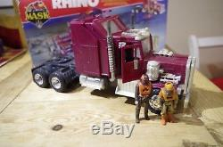 Rhino Kenner Mask Tractor Rig/Mobile Defence Unit Vintage Boxed