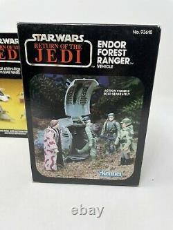 SEALED Vintage Kenner ROTJ Star Wars Endor Forest Ranger Mini Rig Vehicle 1983