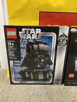 STAR WARS LEGO Bespin Duel 75294 + Vader Bust 75227 In-Hand New, Sealed