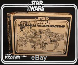 STAR WARS MILLENNIUM FALCON COMPLETE Vintage SW BOX Works Kenner 1979 Millenium
