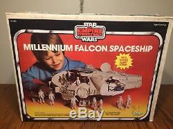 STAR WARS MILLENNIUM FALCON COMPLETE Vintage Works ESB BOX Kenner 1979 Millenium