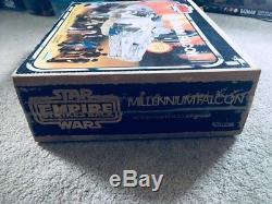 STAR WARS Vintage 1979 MILLENNIUM FALCON COMPLETE with ESB BOX Kenner Millenium