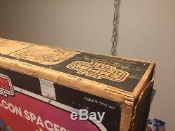 STAR WARS Vintage MILLENNIUM FALCON 100% COMPLETE Working with ESB BOX Millenium