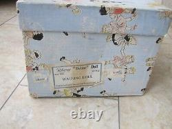 STUNNING VINTAGE EARLY 1950s 20 PEDIGREE HARD PLASTIC WALKER DOLL WITH BOX