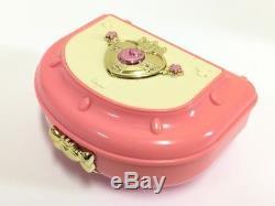 Sailor Moon Vintage Music Box Moon Rainbow Orgel from Japan