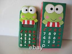 Sanrio Keroppi Calculator Vintage New In Box 1988/1991