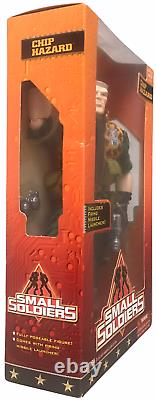 Small Soldiers 12 Non-Talking Chip Hazard Vintage 1998 Action Figure NEW SEALED
