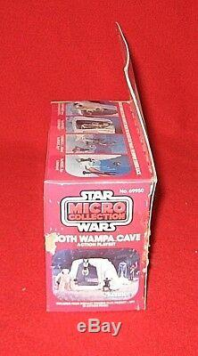 Star Wars 1980 Vintage ESB HOTH WAMPA CAVE Micro Collection SEALED Box NEW
