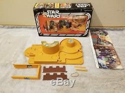 Star Wars CREATURE CANTINA Playset Complete with Box Original 1979 Vintage