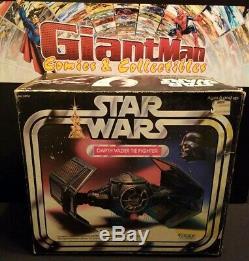 Star Wars Kenner 1977 Darth Vader TIE Fighter Vintage/ Box, Inserts, Instuc. WORKS