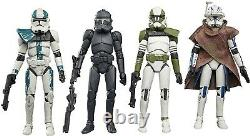 Star Wars The Bad Batch Vintage Collection Amazon Exclusive 4-Pack Figure Hasbro