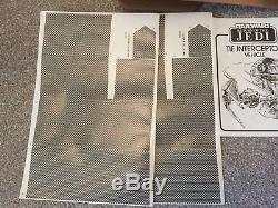 Star Wars Vintage 1983 ROTJ Tie Interceptor Boxed New Unsealed