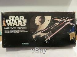 Star Wars Vintage A New Hope Darth Vader TIE Fighter Vehicle + Box 1978