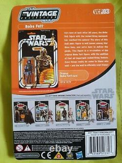 Star Wars Vintage Collection Rocket Firing Boba Fett Action Figure with Box