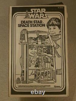 Star Wars Vintage Death Star Playset Complete withBox Insert Papers ALL ORIGINAL