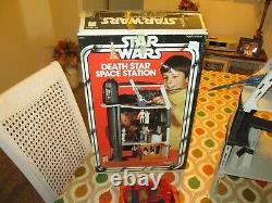 Star Wars Vintage Death Star Space Station Playset Complete withBox Insert Papers
