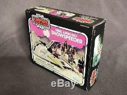 Star Wars Vintage ESB Snow Speeder w Box Unused 1980