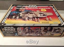 Star Wars Vintage MILLENNIUM FALCON BOXED COMPLETE Kenner