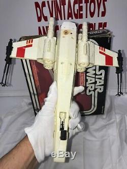 Star Wars X-Wing Fighter Vintage Kenner WithOriginal Box 1978 WithX-Wing Luke