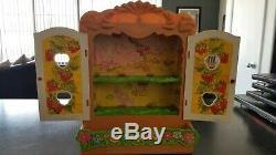 Strawberry Shortcake Berry Patch Carry Case 26 Mini Dolls Original Box 1981